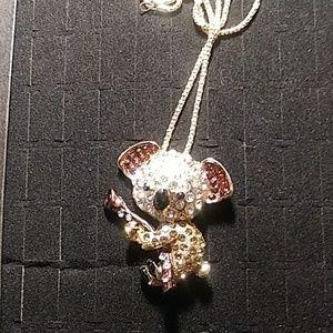 Jeweled Koala Necklace
